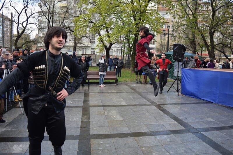 грузинские народные танцы